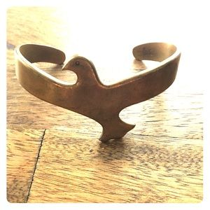 Jewelry - Gold Bird Cuff